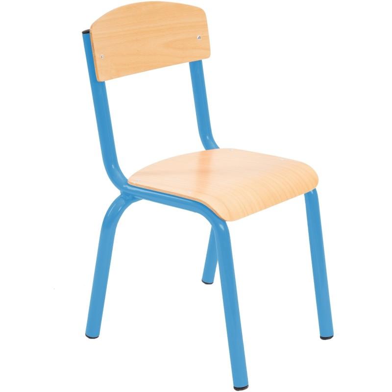 Scaun gradinita Mobby, albastru