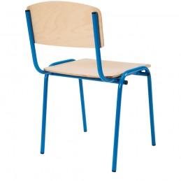 Scaun gradinita Eliss cu cadru metalic, Albastru