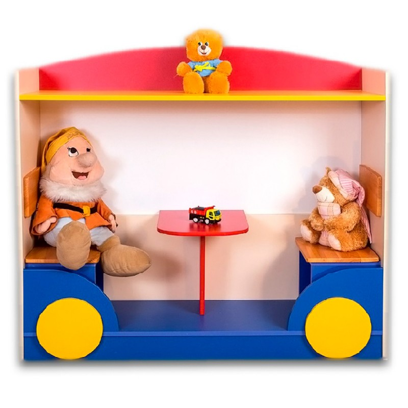 Vagonul Plimbaret - Corp mobilier gradinita