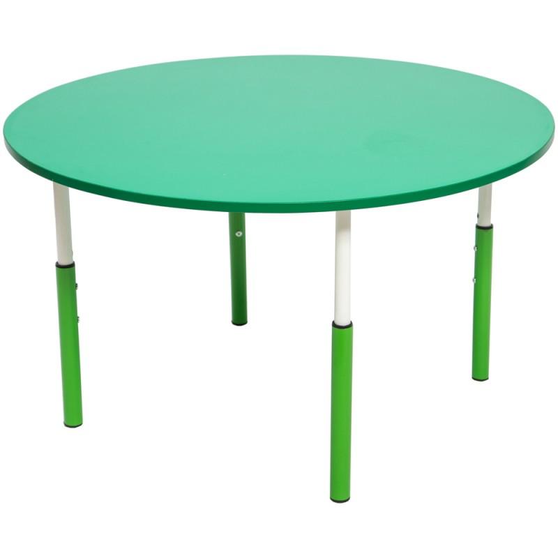 Masa gradinita cu inaltime reglabila cerc 7 Pitici - Verde